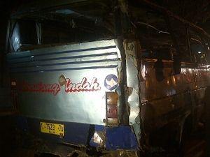 Saksi: Bus Mundur Sejauh 10 Meter, Terjun ke Jurang dan Terguling 2 Kali