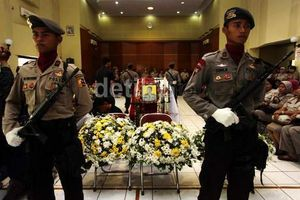 Polisi Rekonstruksi Penembakan Aipda Sukardi di Depan Kantor KPK