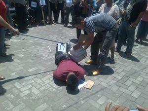 Hindari Amuk Massa, Rekonstruksi Digelar di Kantor Polisi