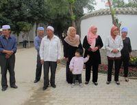 New Muslim Village, itulah sebutan yang diberikan untuk perkampungan muslim di Wuzhong ini. Penduduknya merupakan orang-orang dari Suku Hui (Putri/detikTravel)