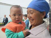 Salah satu wajah anak kecil di perkampungan muslim di Wuzhong, China (Putri/detikTravel)