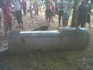 TNI AU: Tangki yang Jatuh dari Pesawat Tempur Hawk 200