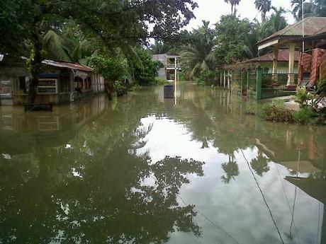 Banjir Rendam Ribuan Rumah di Langkat dan Binjai Sumut