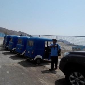 3 Armada Penolong Jamaah Haji di Mina, \BMW\ Butut hingga Bajaj Biru