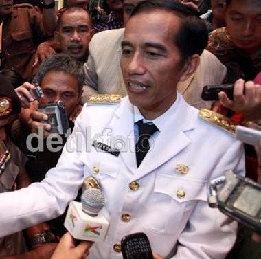 Jokowi: 2014 Jakarta Bebas Topeng Monyet