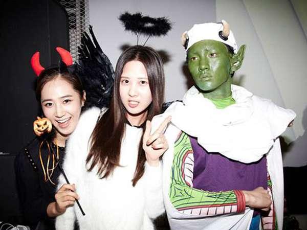 Serunya Pesta Halloween dengan Artis SM Entertainment