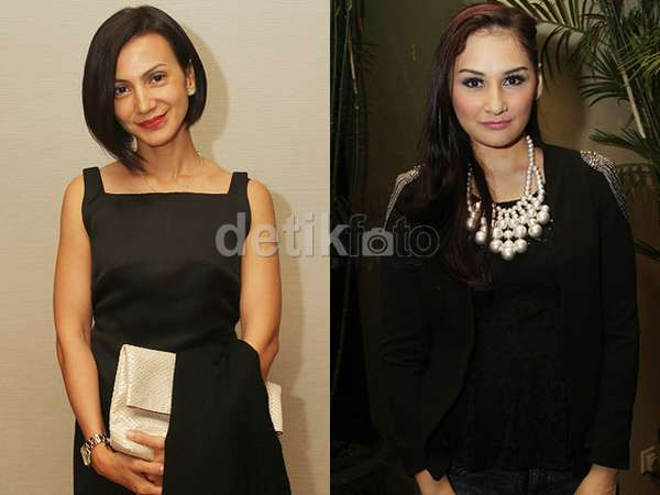Hitam-hitam Wanda Hamidah dan Mona Ratuliu