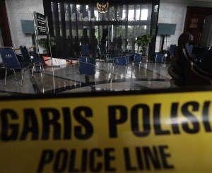 Polisi Buru Pelaku Kericuhan Sidang MK yang Terekam CCTV