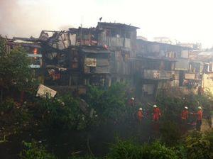 Kebakaran Perumahan di Belakang RSPAD Bisa Dipadamkan, 100 Rumah Hangus
