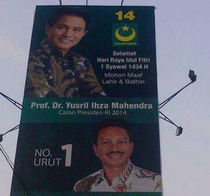 Yusril Ihza Mahendra Deklarasi Capres PBB 8 Desember di Surabaya