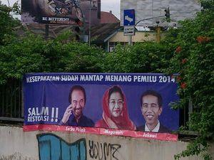 PDIP Tak Permasalahkan Spanduk \Salam Restorasi\ Jokowi-Paloh