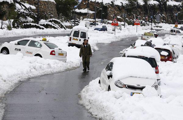 Salju di Yerusalem