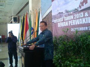 Refleksi 2013, Ketua DPD Curhat Soal DPR yang Egois Soal Legislasi