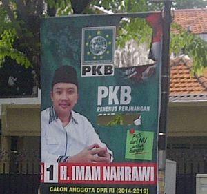 Ada Foto Gus Dur, Baliho Sekjen PKB Dirusak