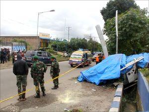 KNKT Selidiki Penyebab Jatuhnya Helikopter di Karo