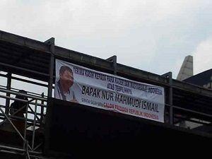 Spanduk Nur Mahmudi Capres, PKS: Itu Karena Dia Sukses Pimpin Depok