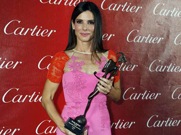 Pretty in Pink Sandra Bullock