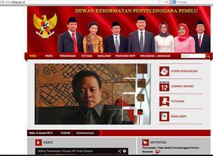 Pembobol Situs DKPP Ditangkap, Tersangka Seorang Penjaga Warnet di Lahat