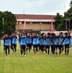 Timnas U-19 Matangkan Formasi 4-3-3