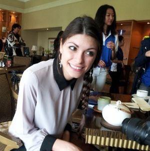 Linda Morselli Senang Bisa Dampingi Rossi ke Jakarta