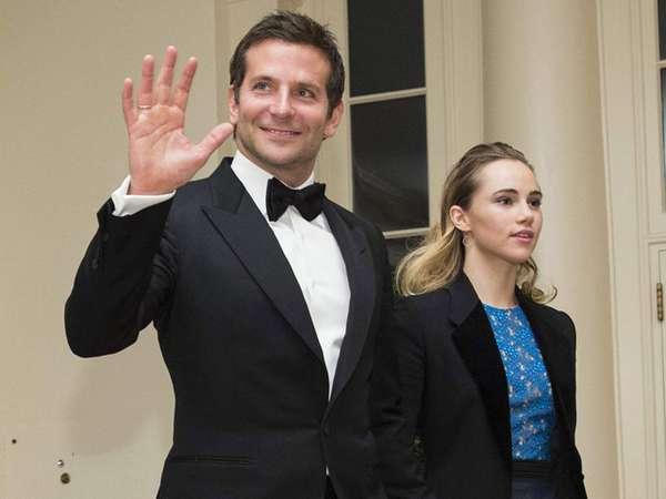 Bradley Cooper dan Suki Waterhouse Mesra di Gedung Putih