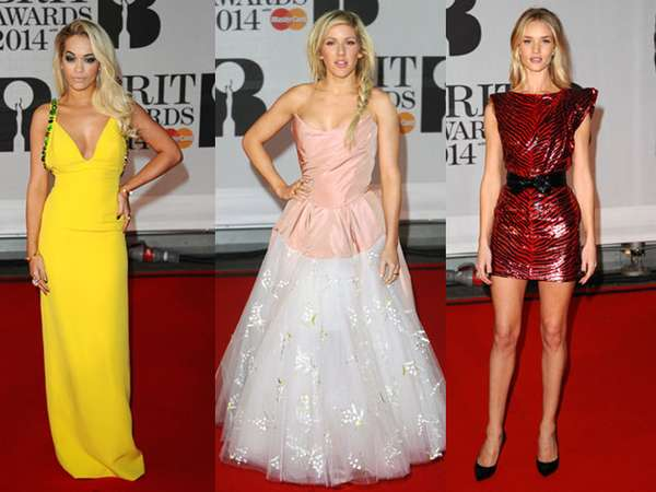 Suasana Red Carpet BRIT Awards 2014