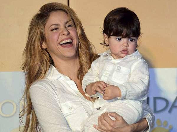 Lucunya Anak Shakira dan Gerard Pique