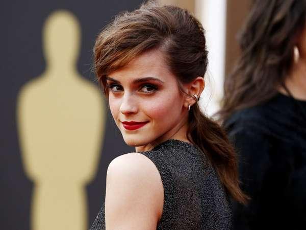 Kecantikan Emma Watson Menyihir Oscar 2014