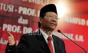 Wasekjen PBNU: Mahfud MD Cocok Jadi Cawapres Jokowi