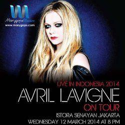 Tiket Avril Lavigne Masih Ada!