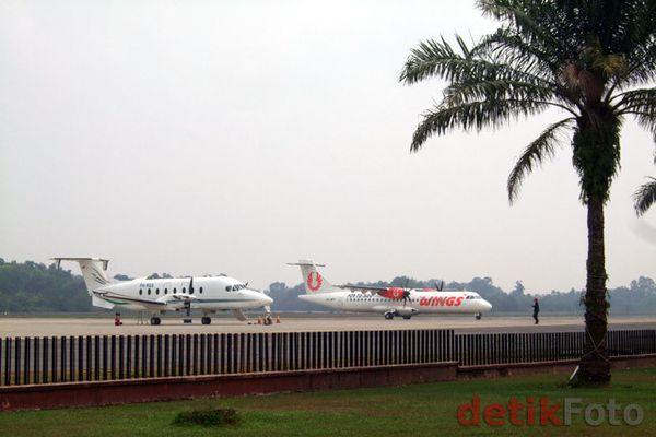 Asap Menipis, Penerbangan di Bandara Pekanbaru Mulai Normal