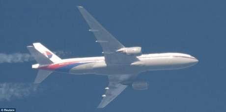 Foto Terakhir Malaysia MH370 Saat Mengudara