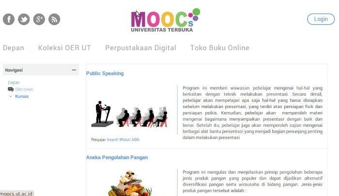 Universitas Terbuka Gelar Kuliah Online Gratis, Ayo Daftar!