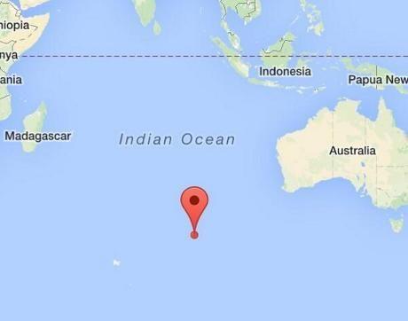 Titik Koordinat Tempat Ditemukannya Puing Diduga MH370