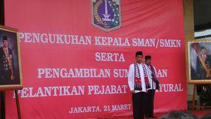 Pidato 2 Kalimat Jokowi untuk Para Kepsek yang Lolos Lelang Jabatan