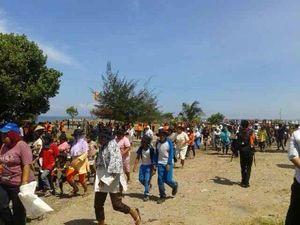 Antusiasme Masyarakat Mentawai Ikut Gladi Lapang Ancaman Gempa