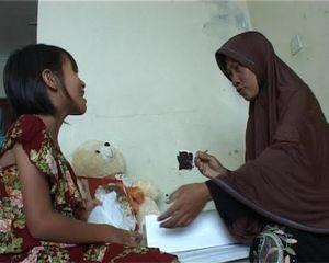 Terpisah 7 Tahun, Aisyah Akhirnya Kembali Bertemu Ibu Kandungnya
