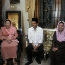 Jokowi dan Keluarga Gus Dur Bicara Persoalan Bangsa