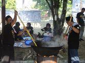 Semarak Festival Kuah Beulangong di Aceh, Memasak di Belanga Ukuran Jumbo