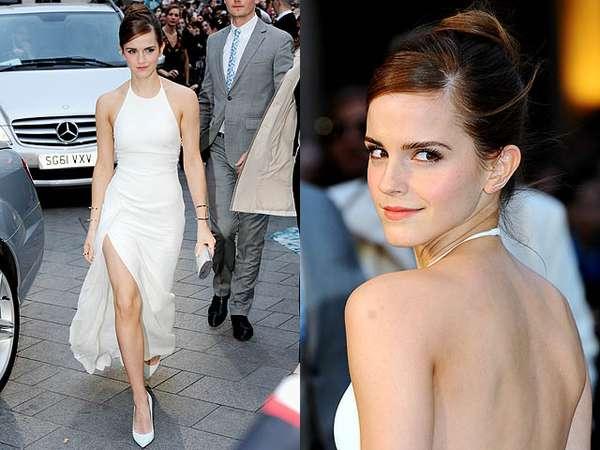 Emma Watson Seksi Pamer Keindahan Kaki