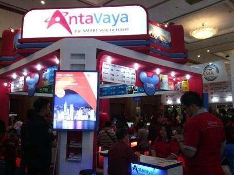 Antavaya Bertabur Diskon di Garuda Indonesia Travel Fair