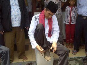 Jokowi Ngaku Di-backup Ribuan Relawan Anti Serangan Panasbung