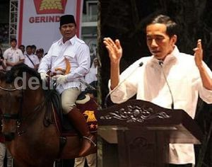 Adu Kuat Pasukan Nasi Bungkus Prabowo dan Jokowi
