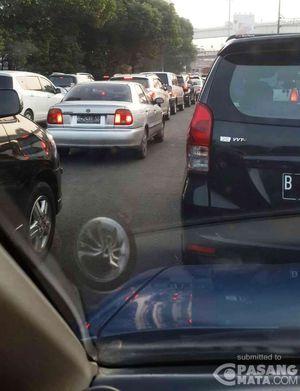 Harpitnas, Sejumlah Ruas Jalan Jakarta Tetap Padat