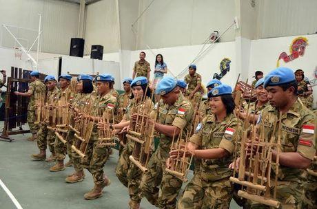 Serunya Anggota TNI Main Angklung yang Pukau Tentara Negara Lain di Lebanon