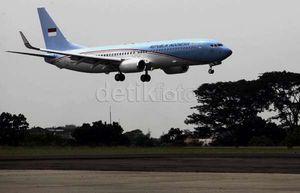 Terbang Perdana, SBY Gunakan Pesawat RI-1 ke Bali