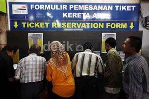 Tiket Kereta Tambahan Lebaran Dijual Nanti Malam