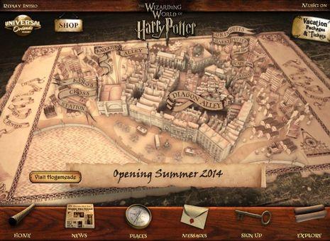 Masuk ke Dunia Harry Potter di Universal Studios Orlando