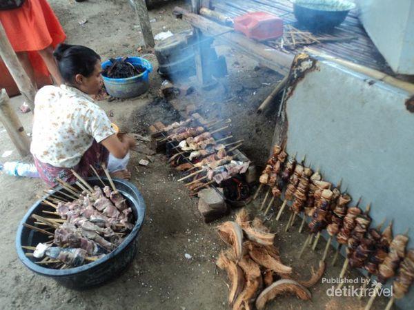sate tuna lombok