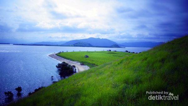 Pulau Kenawa, tampak samping